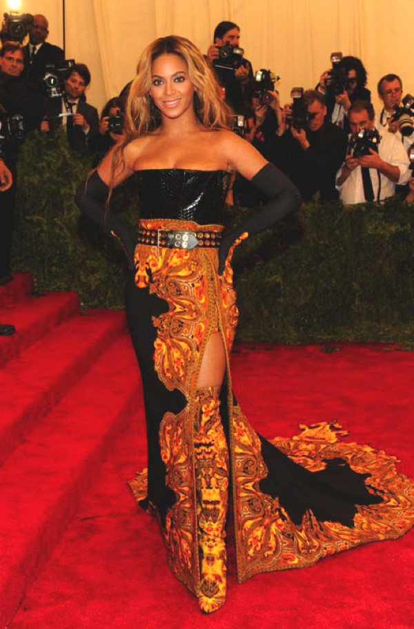 Beyonce at the Met Ball 2013