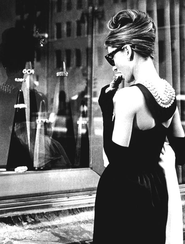 Breakfast at Tiffany's staring Audrey Hepburn