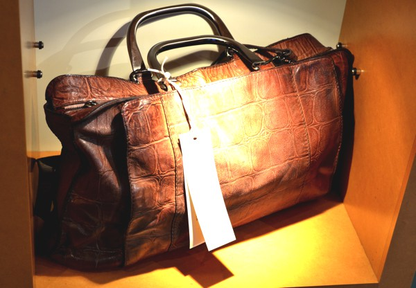 Brown leather bag-0000