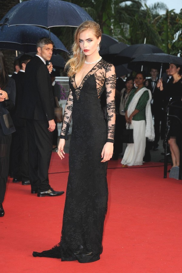 Cara Delevingne at the 2013 Cannes Ceremony