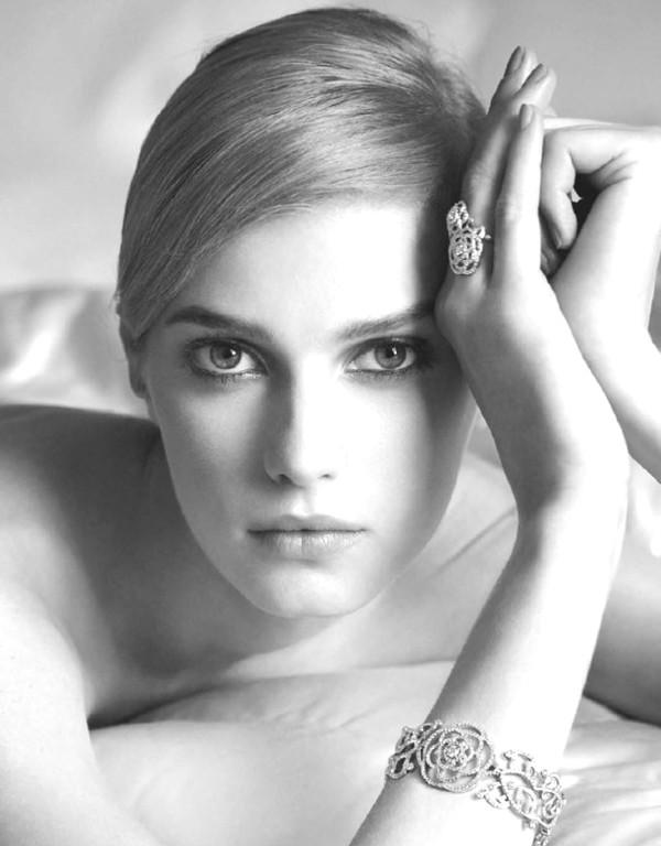 Chanel Joaillerie Model- Sigrid Agren Photographer- Dominique Issermann