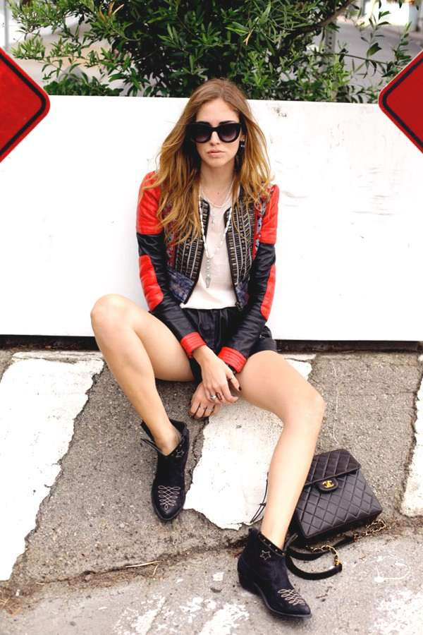 Chiara Ferragni Total Leather