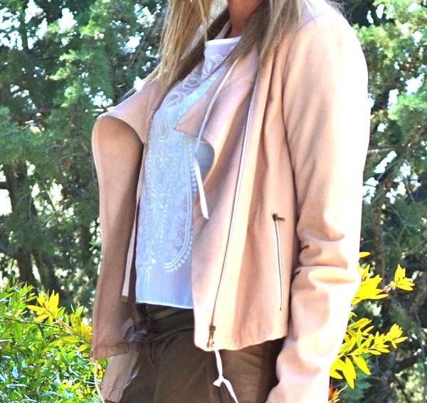 Diane Von Furstenberg Wear Leather Jacket