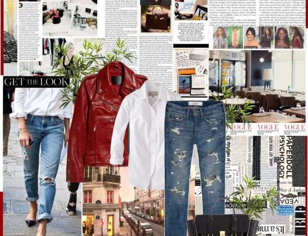 Icelle boyfriend jeans Collage