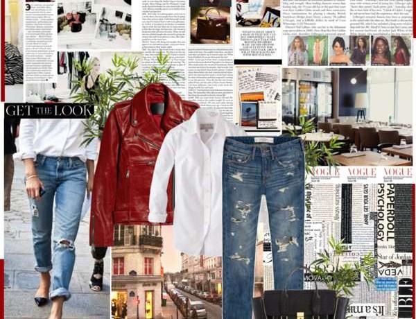 Icelle boyfriend jeans Collage