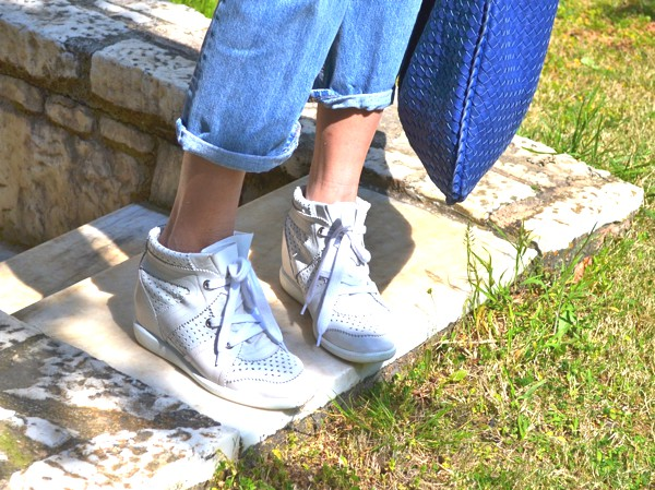 Isabel Marant sneakers Cobalt blue bag-0000