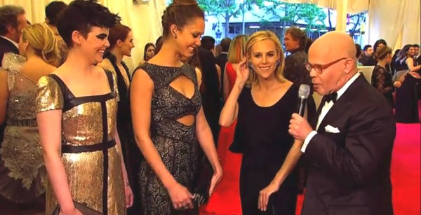 Jessica Alba and Tory Burch at the Met Ball