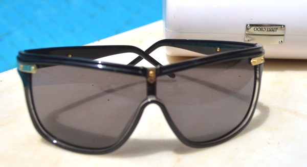 Jimmy Choo flat top sunglasses