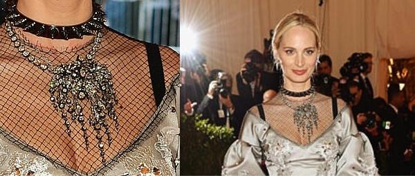 Lauren Santo Domingo put a punk spin Dolce & Gabbana gown