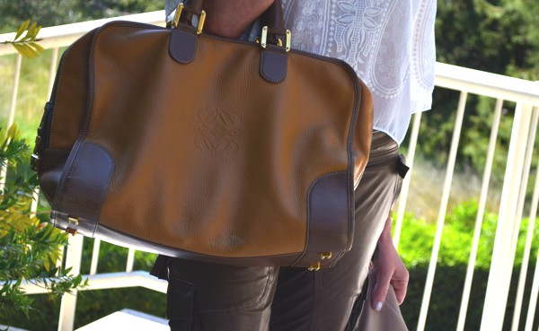 Loewe handbag-Brown Shades Leather-0000