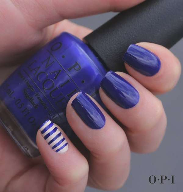 Cobalt Blue Nail polish by OPI