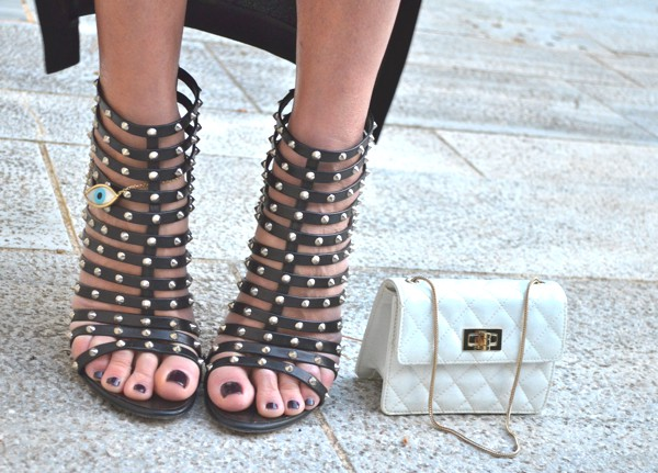 Personal Style- Giuseppe Zanotti booties with spikes
