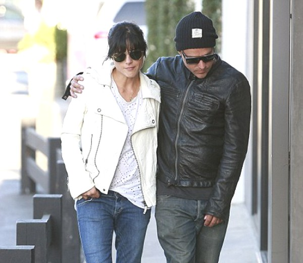 Selma Blair with boyfriend designer Jason Bleick