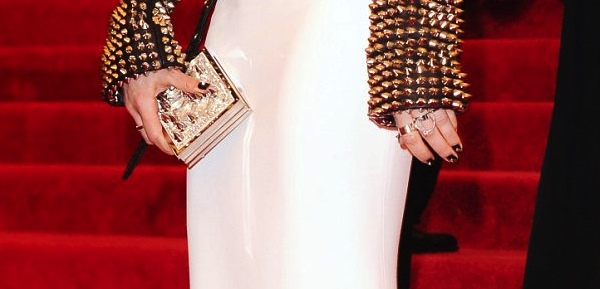 Sienna Miller's ring and clutch