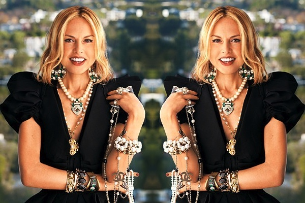 The epitome of stacking by Rachel Zoe