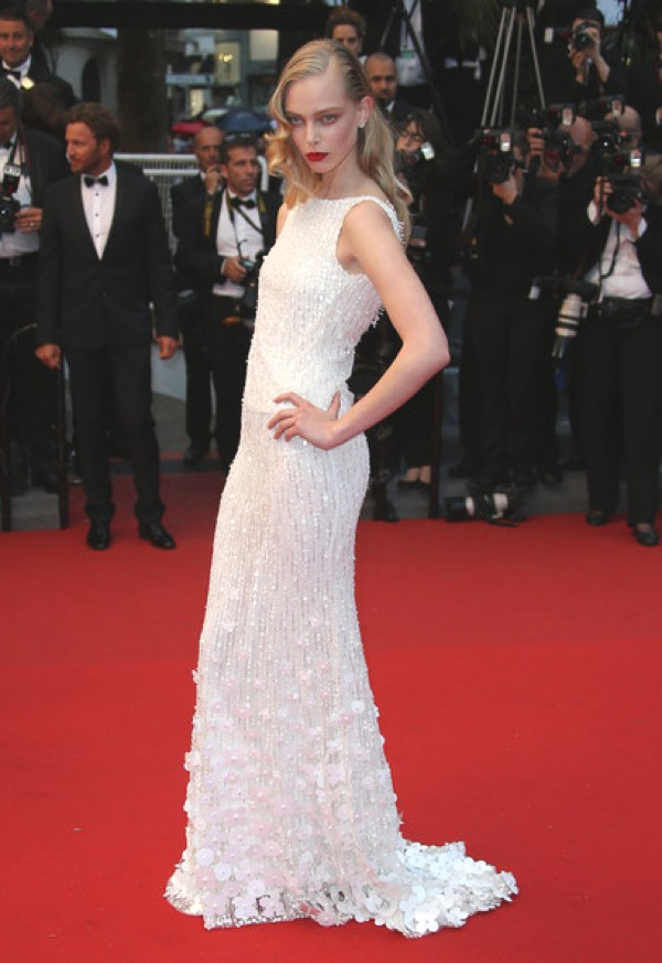Tanya Dziahileva in Cannes