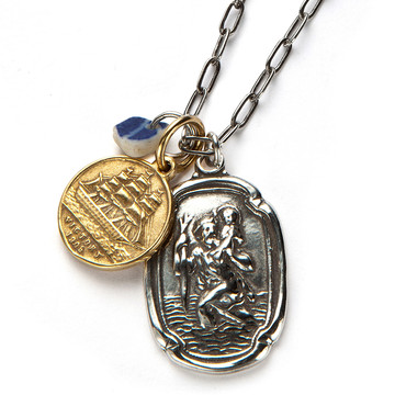 Traveller mens necklace