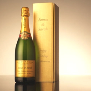 personalized champagne-bottle