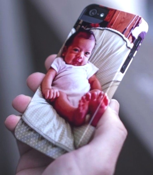 personalized iPhone-baby