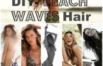 DIY Hair Tutorial- Beach Waves Heat or No Heat