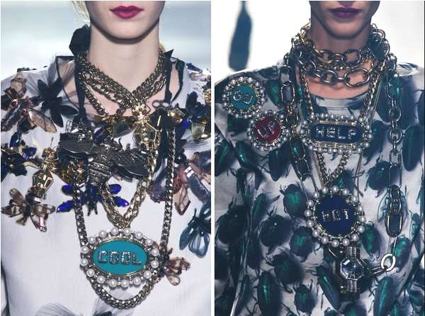 Lanvin layeing necklaces-Fashion Risks