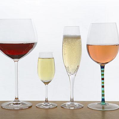 Limit Alcohol  to vine