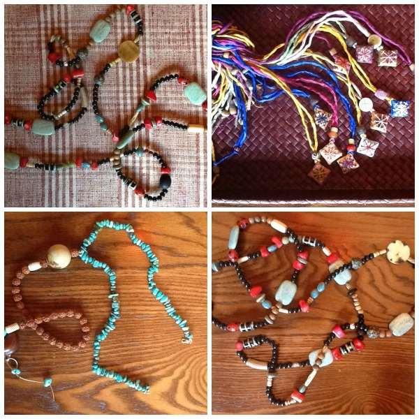 Maria Xanthakou jewelry Collage