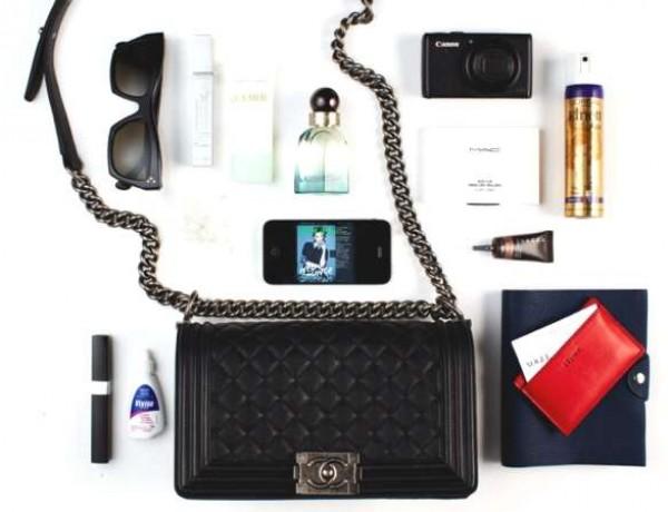 Rebecca Caratti, Style Editor purse Chanel Boyl