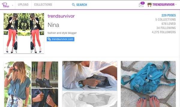 Trendsurvivor Pose App