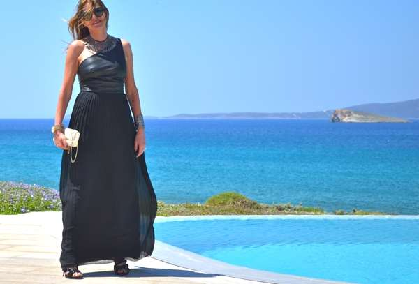 Wedding Guest Noir Maxi Gown Trendsurvivor-0000