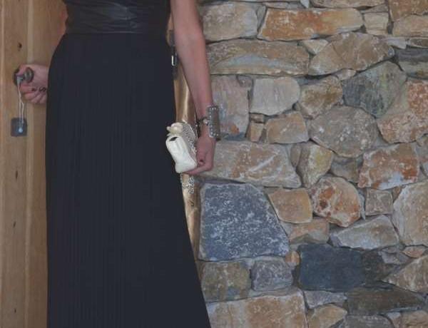 Wedding Guest Noir Maxi Gown Trendsurvivor-0002