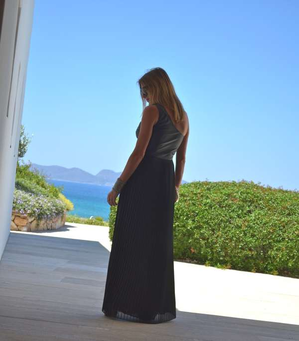 Wedding Guest Noir Maxi Gown Trendsurvivor-0005
