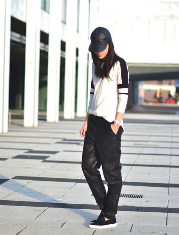 outfit-baggy-leather-trousers-sports-luxe-trend-look-710x932