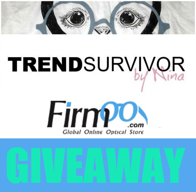 Trendsurvivor X Firmoo Glasses Worldwide Giveaway- 7 Winners