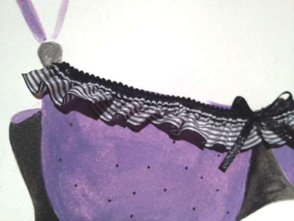 Haris Ghertsos- Charismatic Xaris Art purple