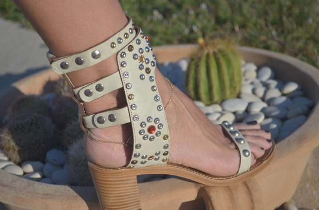 Cactus- Isabel Marant studded sandals