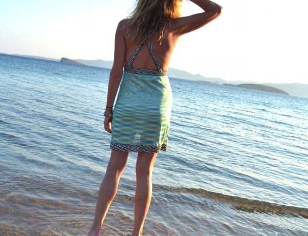 Dress Missoni blue, sea