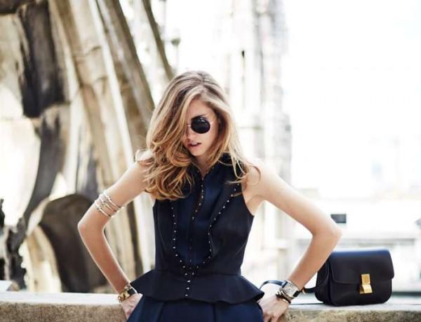 Chiara Ferragni posing