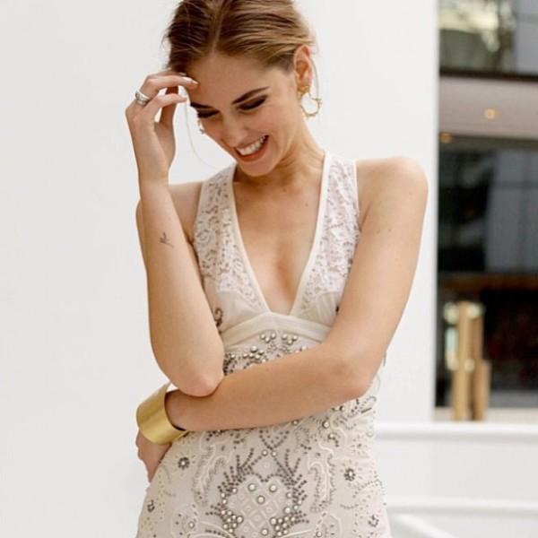 Chiara Ferragni smile