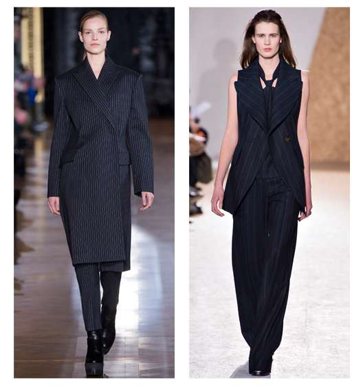 Tailored  Stella McCartney and Maison Martin Margiela-  Fall Winter 2013- 2014