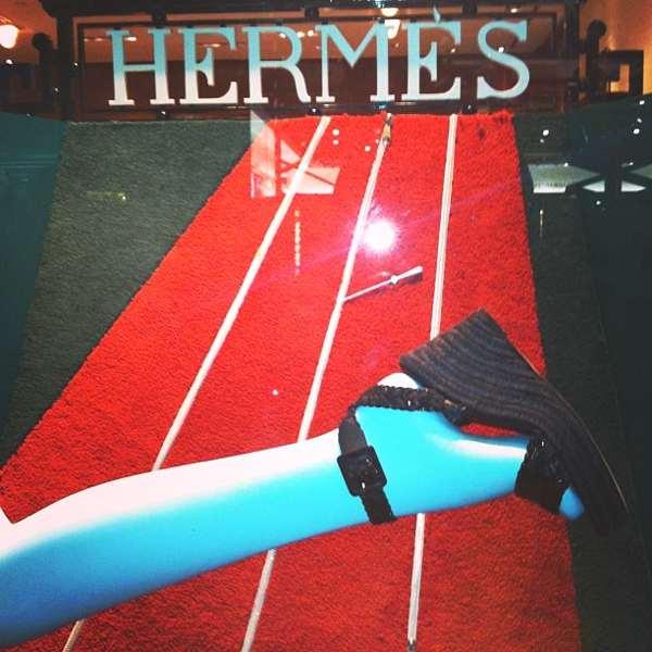 Hermes espadrilles