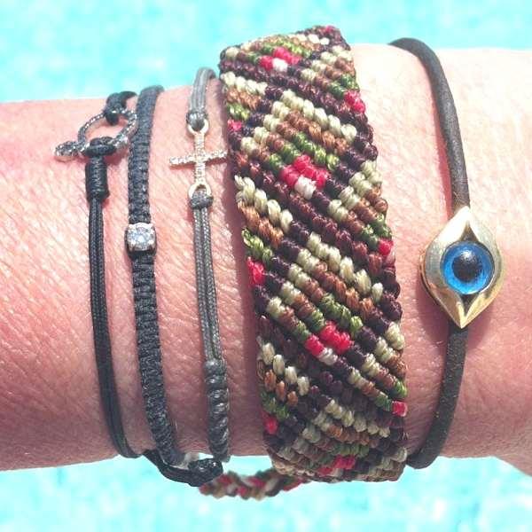 my 5 bracelets