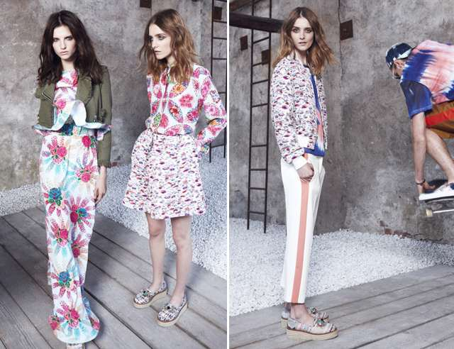 MSGM Resort  2014 Floral Lookbook