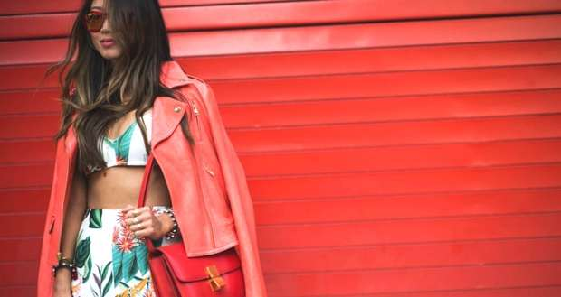 Aimee Song at New York Fashion Week SS 2014