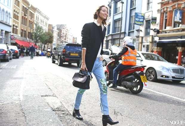 Alana Zimmer at London Fashion Week SS 2014