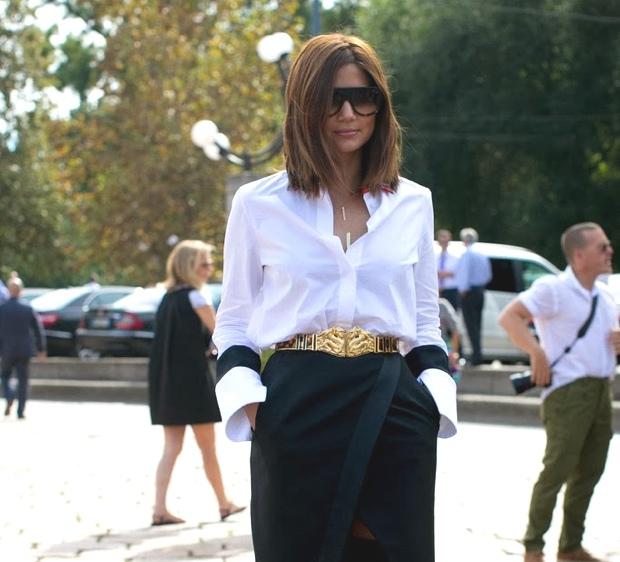 Milan Fashion Week- Short hair street style