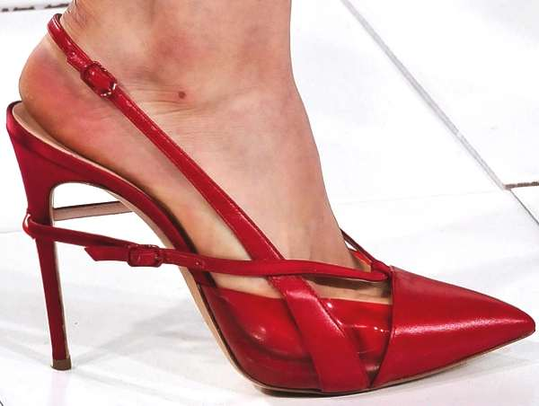 Casadei for Prabal Gurung Red 2014