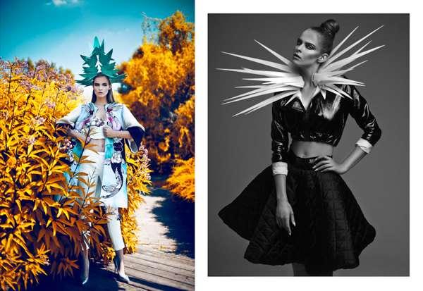Fashion Blossoms Forever by Aleksandra Zaborowska 2