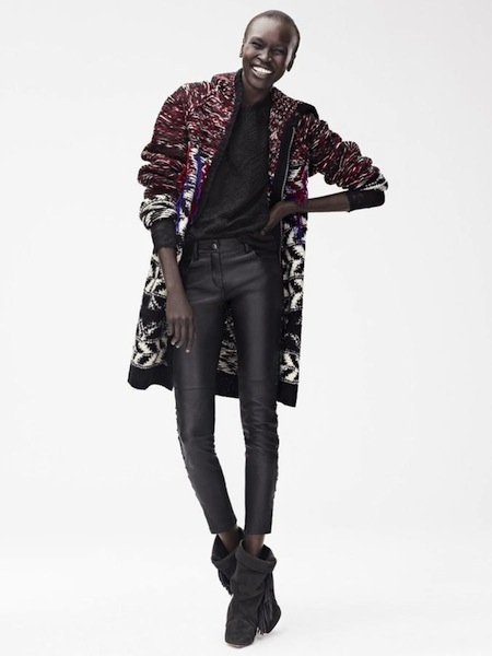 Isabel Marant X H and M- More the cadigan
