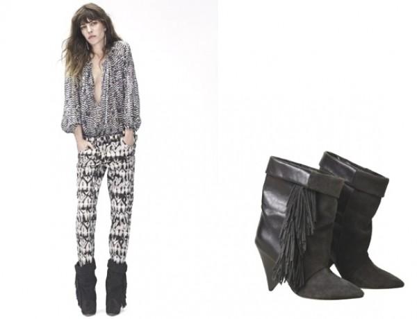 Isabel-Marant-for-Ha-nd-M-fringed-boots